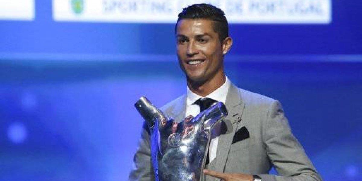 Cristiano Ronaldo es elegido el Mejor Jugador de Europa