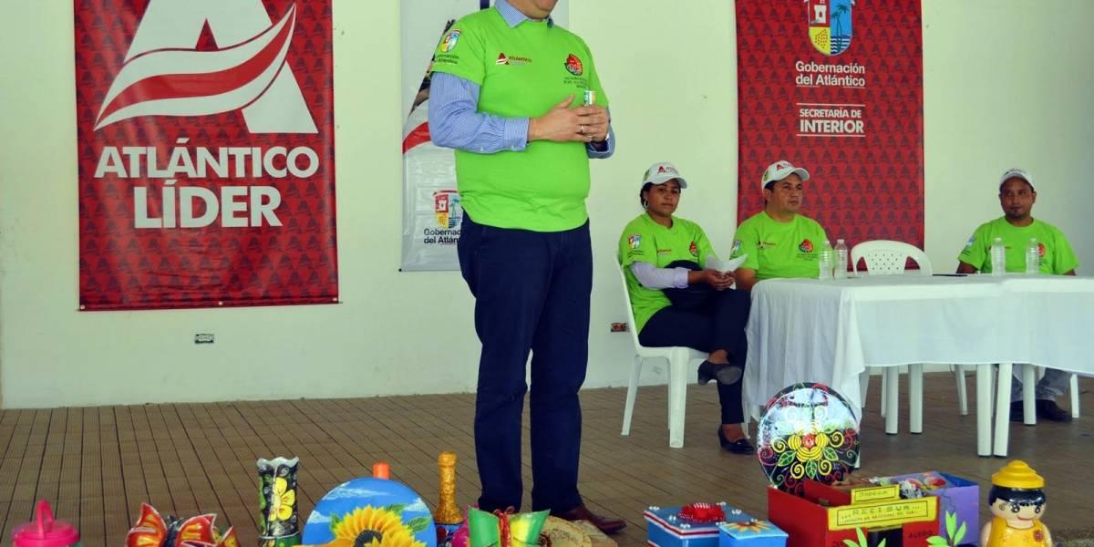 Ponen en marcha primera unidad productiva de reciclaje en el sur del Atlántico