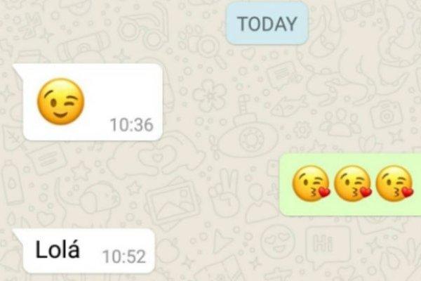 """La emocionante historia detrás de una """"simple"""" conversación en whatsapp que conmovió a todos en redes sociales"""