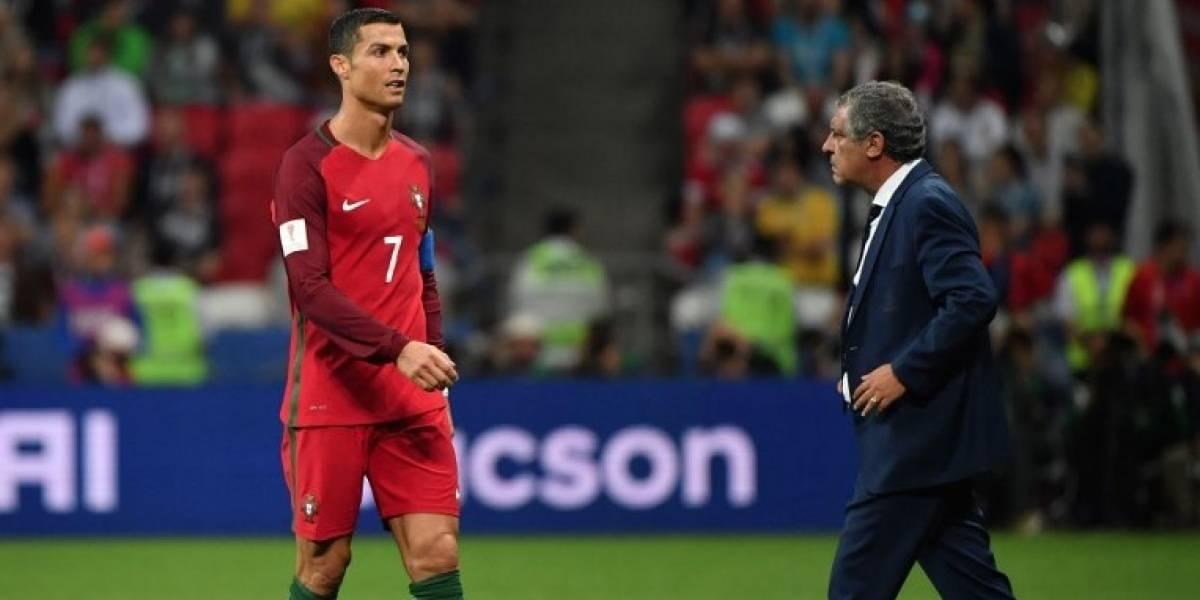 Técnico de Portugal critica la sanción contra Cristiano Ronaldo