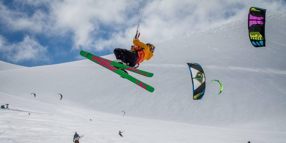 "La nueva disciplina del ""deporte blanco"" se toma el centro de ski Corralco"