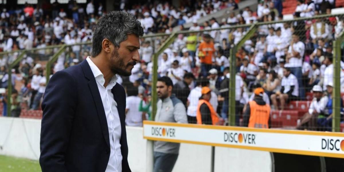 Liga de Quito llegó a un acuerdo económico con Gustavo Munúa