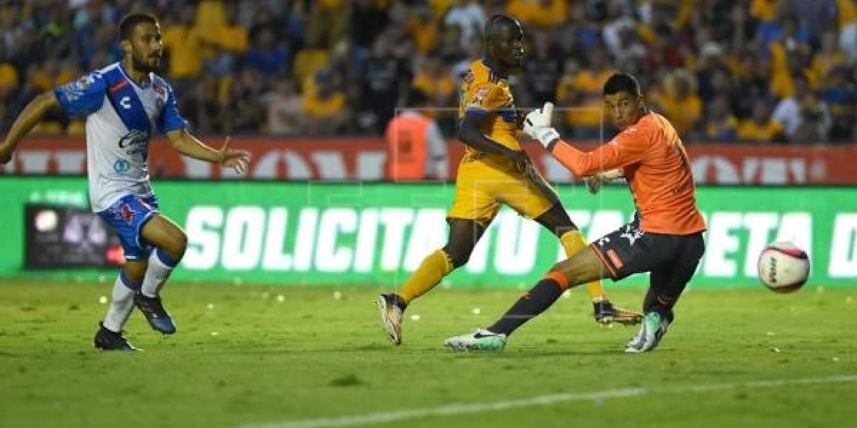 Énner Valencia sigue con racha goleadora en México