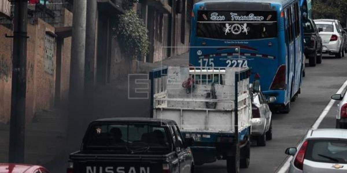 Se confirma paro de transporte en Quito
