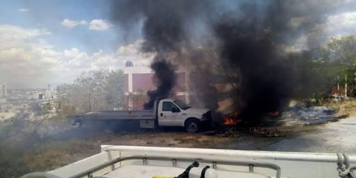 Se incendia Protección Civil de Nuevo León