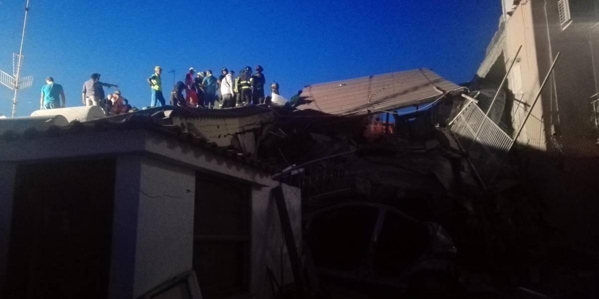 Niño rescatado tras sismo en Italia agradece milagro