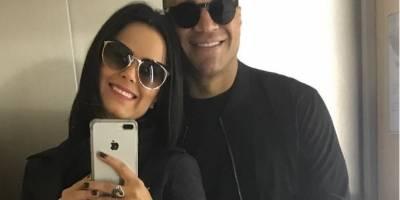 Irmã de Zezé Di Camargo mostra ataque de ciúmes do marido, Denilson