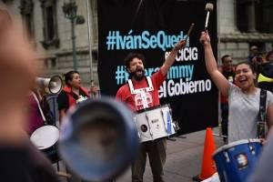 Apoyo a Iván Velásquez