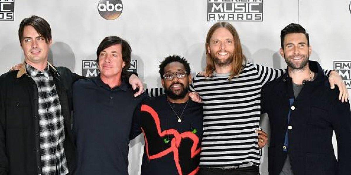 Previo al concierto en Guatemala, Maroon 5 es premiado en Centroamérica