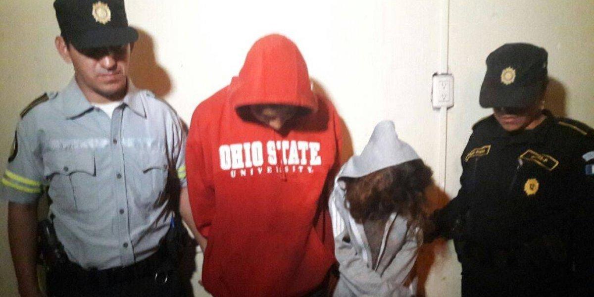 Adolescentes presuntos sicarios de la mara 18 son remitidos tras persecución