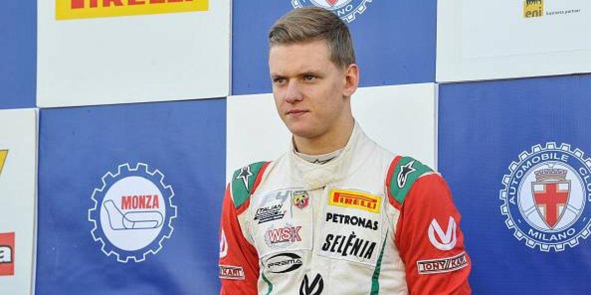 Hijo de Schumacher correrá en el Gran Premio de Bélgica