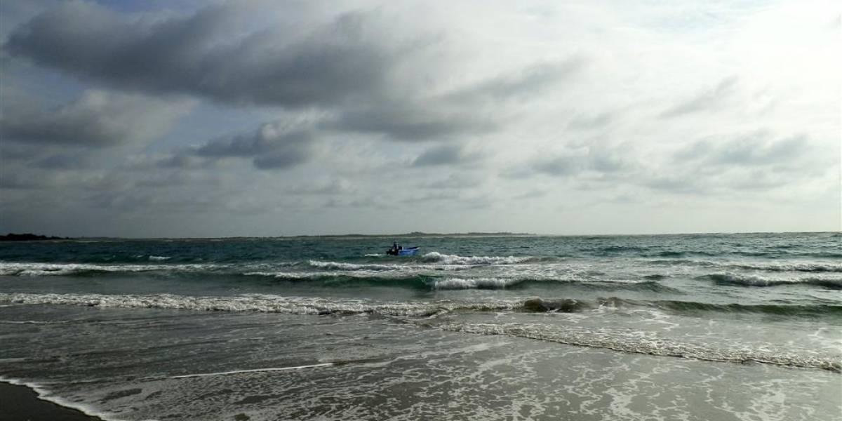 Turistas quedaron atrapados en una isla en Esmeraldas