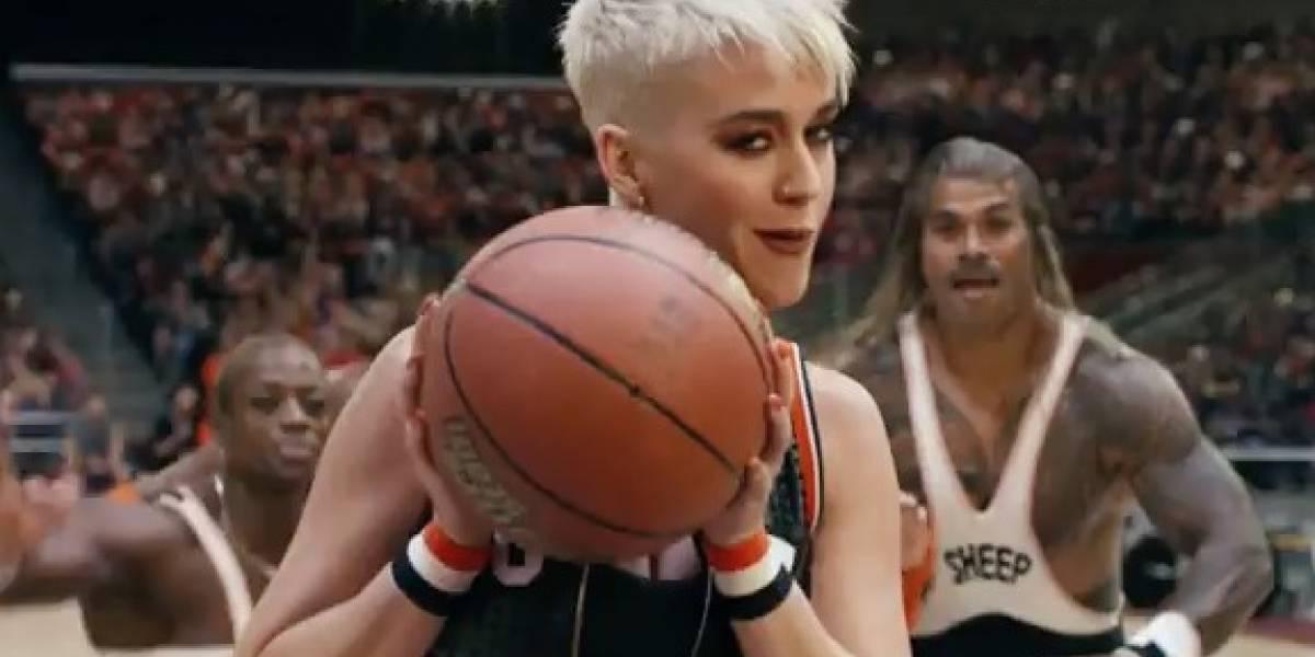 Katy Perry estrena alocado video de Swish swish