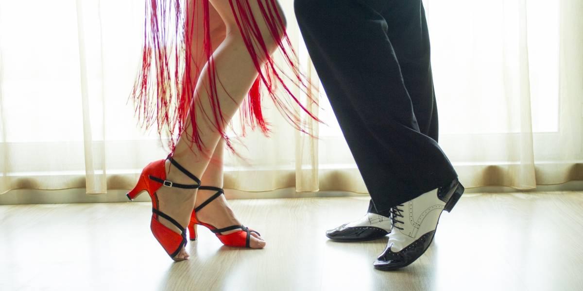 Histórico baile de dos leyendas