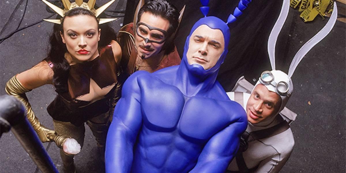 The Tick hace una parodia de los superhéroes en TV