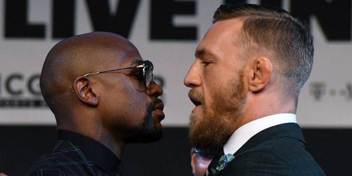 ¿Cuando y a qué hora pelean Mayweather vs. McGregor?