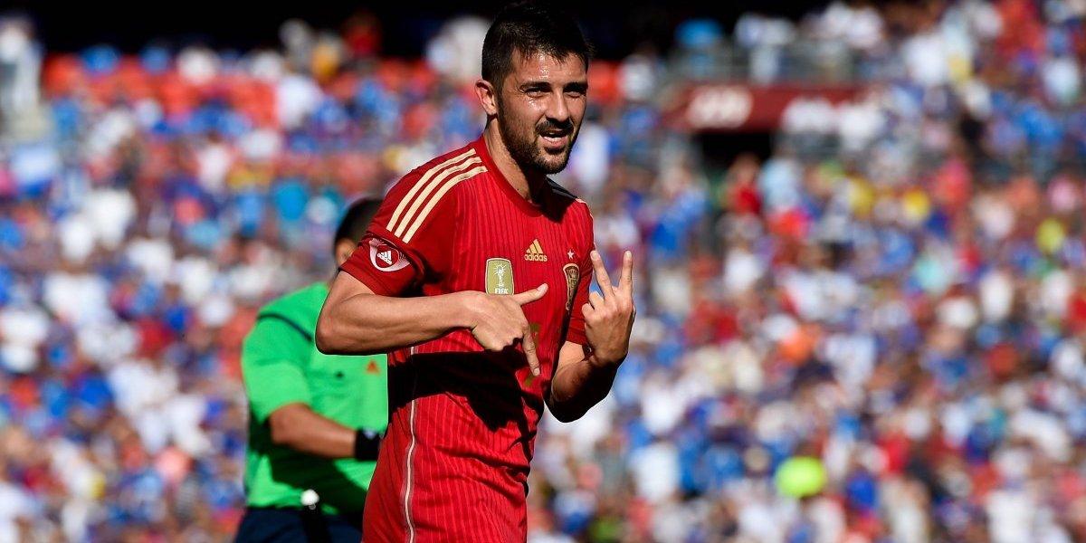 El Guaje David Villa vuelve a la selección española para llevarla al Mundial