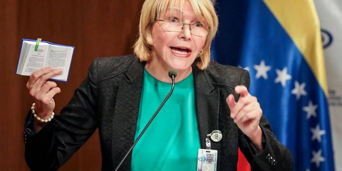 La exfiscal de Venezuela Luisa Ortega volvió de Brasil a Colombia