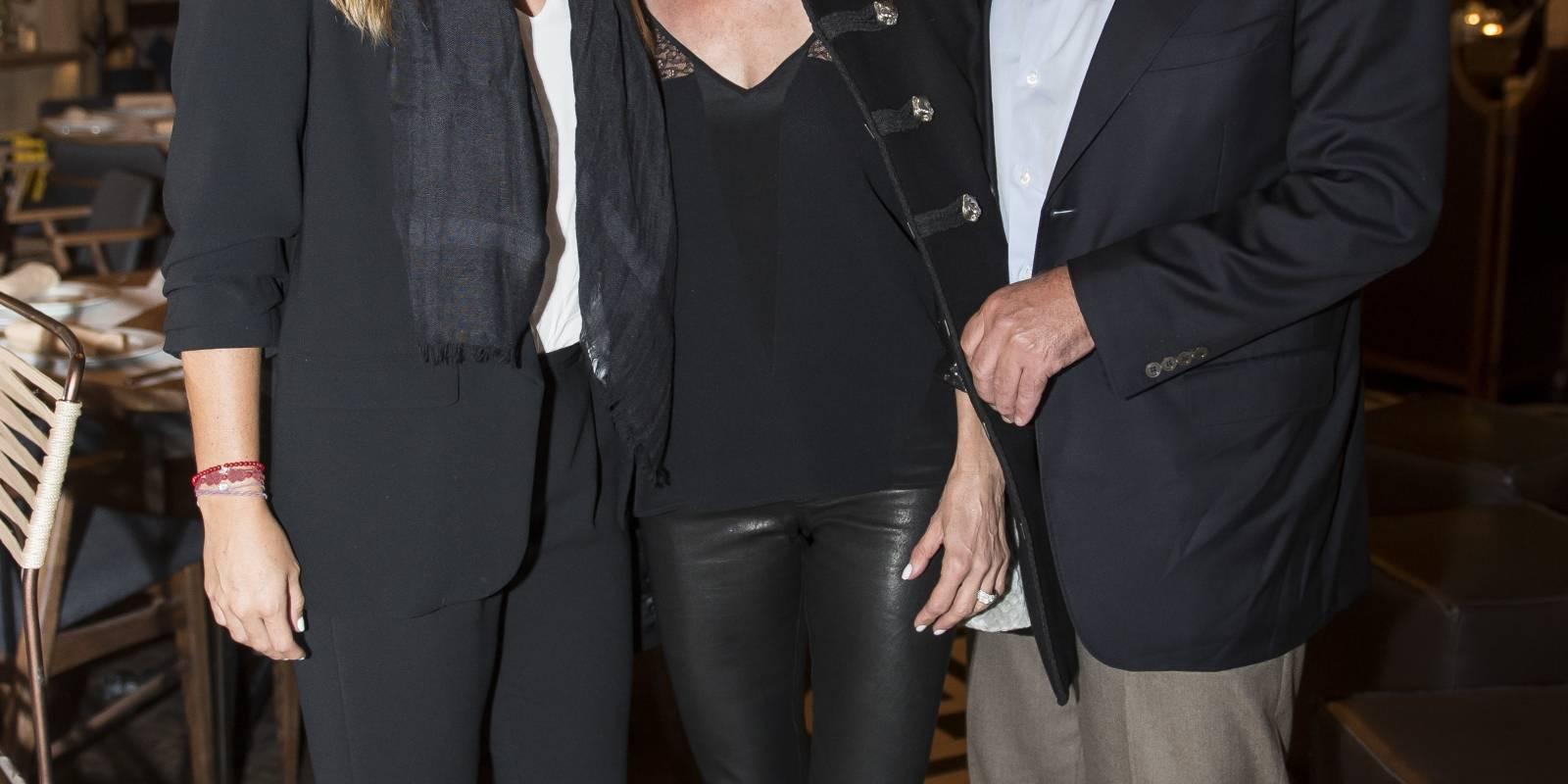 Lorenza Bernot, Marta Correa y Carlos Rivera JDS