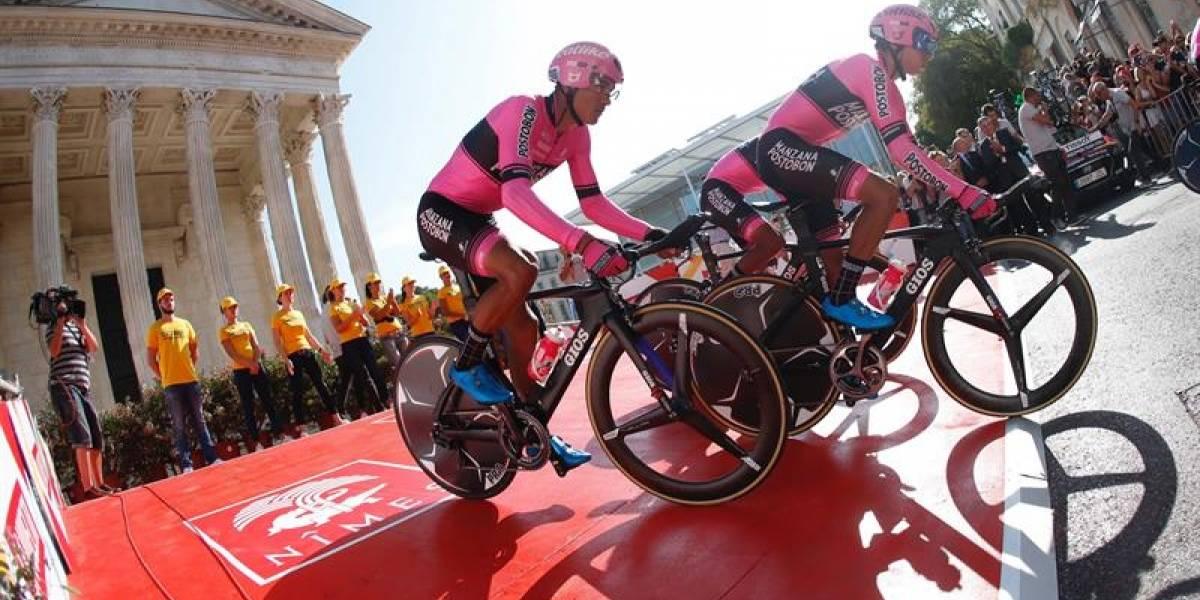 Manzana Postobón se mete al top 10 de la Vuelta a España