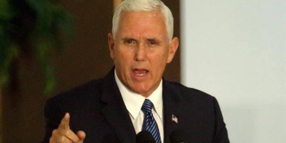 Escándalo militar en EEUU: relevan a soldados que fueron con Pence a Panamá por llevar mujeres a hotel