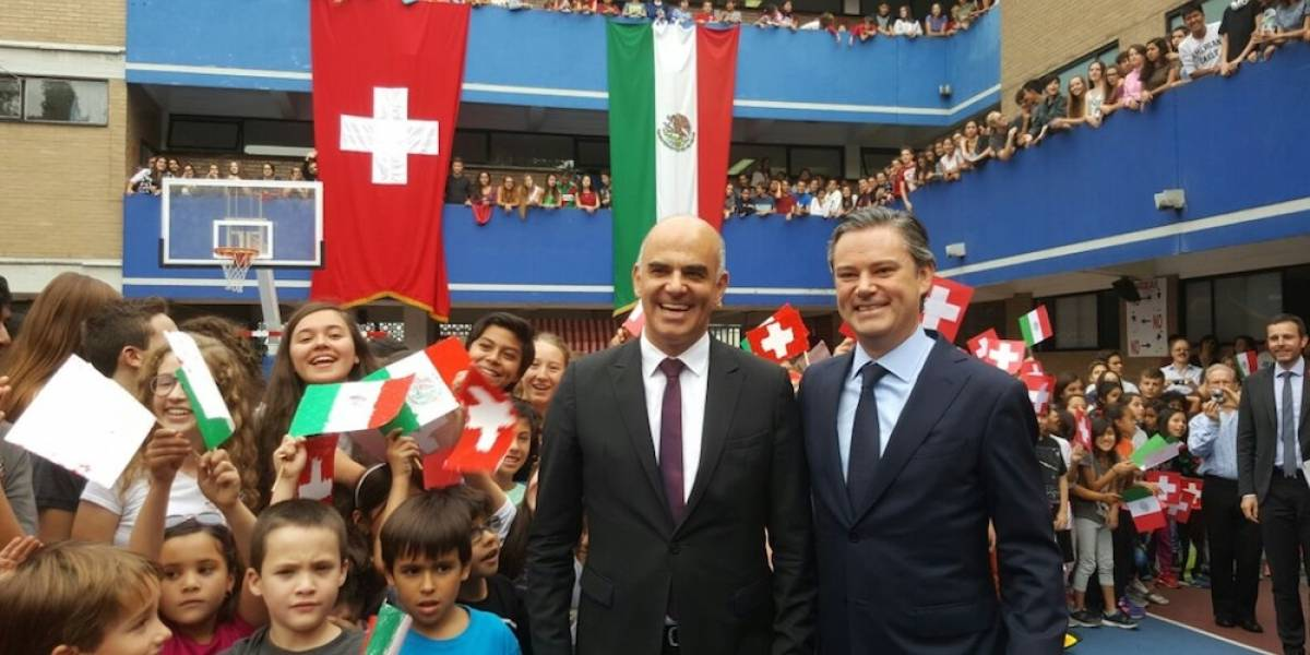 Destaca Nuño Mayer impulso al Modelo Dual mexicano, con metodología suiza