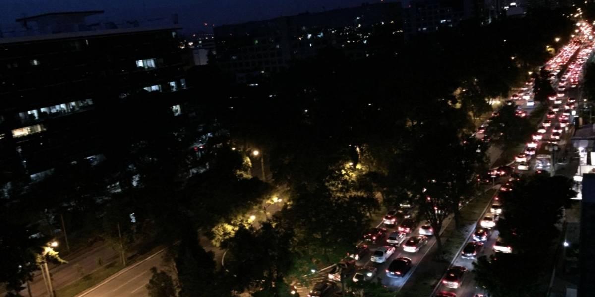 VIDEO. Así están las calles y el tráfico en la ciudad de Guatemala