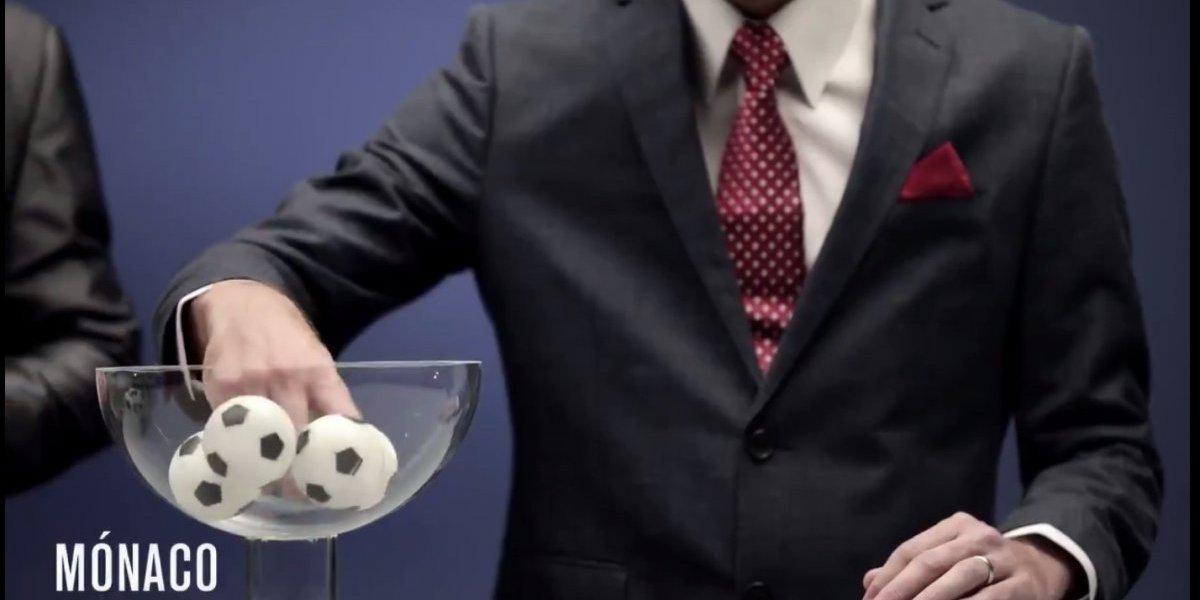 Serie 'Narcos' parodia sorteo de Champions League