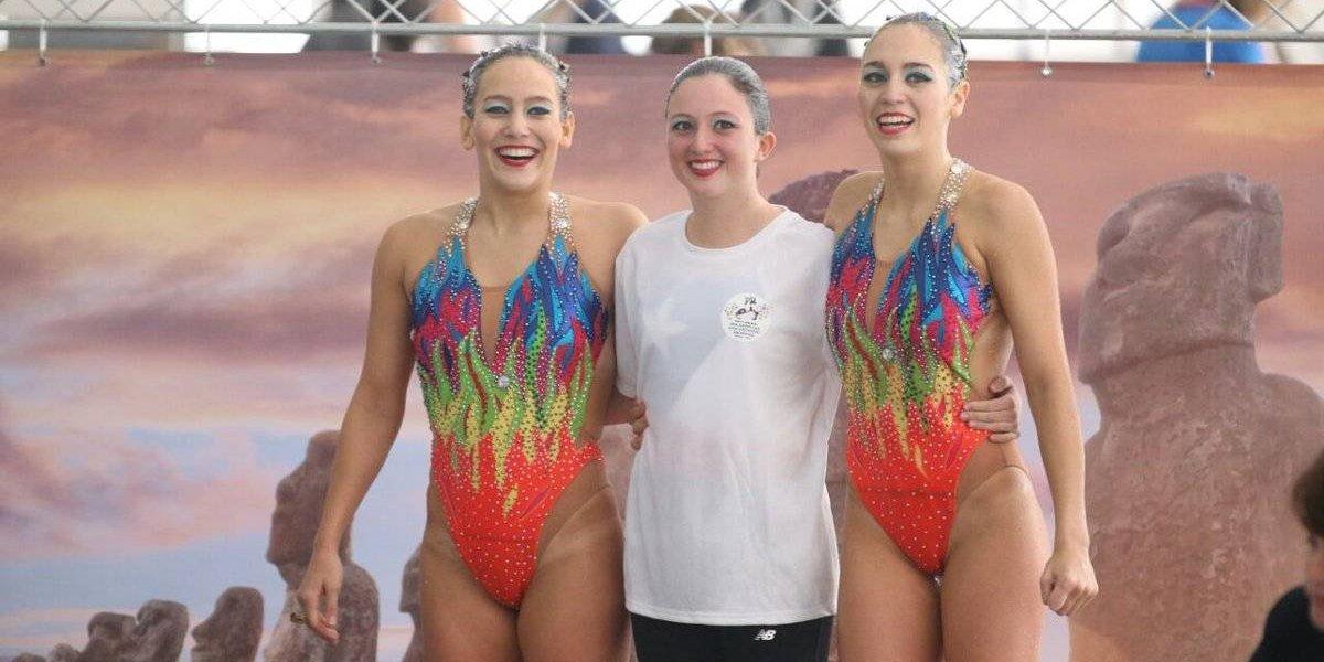Chile brilla lleno de oro en el Panamericano de nado sincronizado