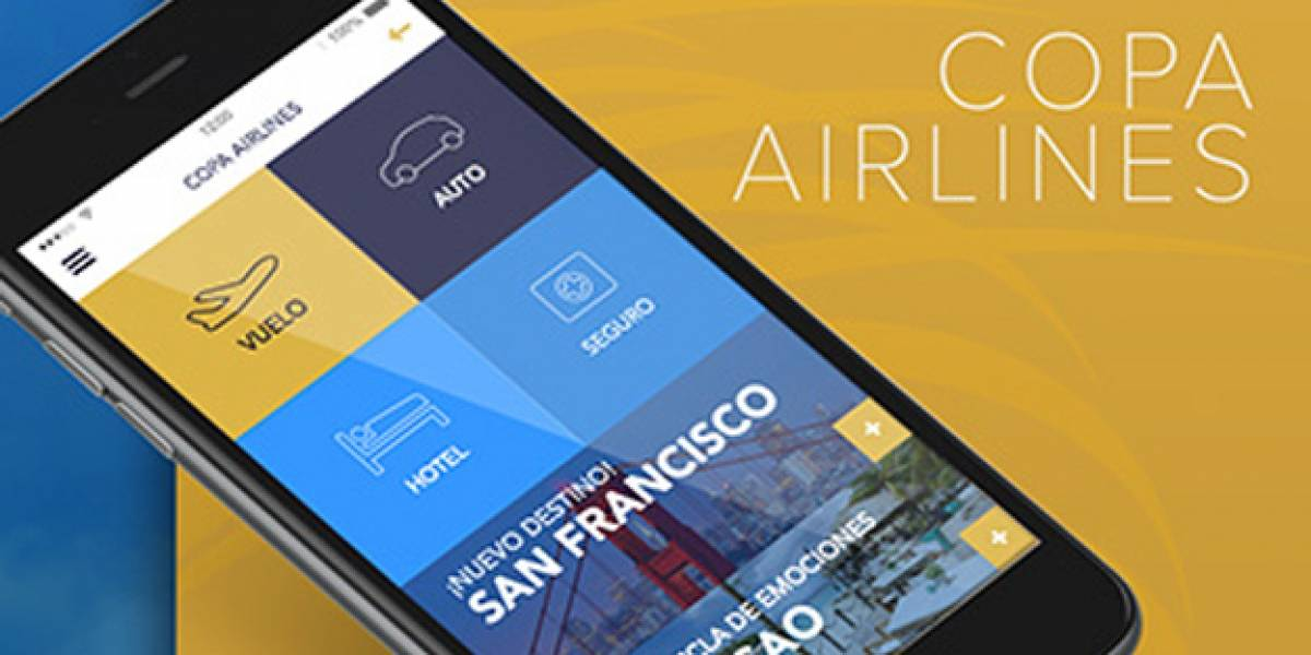 Copa Airlines presenta su renovada aplicación digital