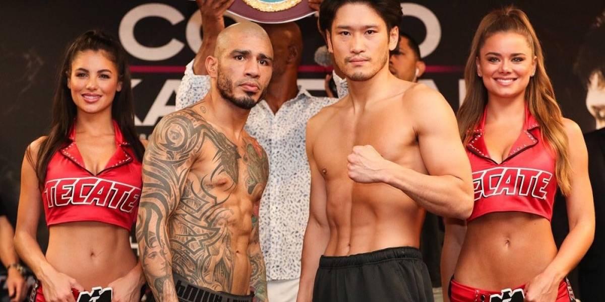 Cotto y Kamegai; Vargas y Ríos, en peso para sus peleas
