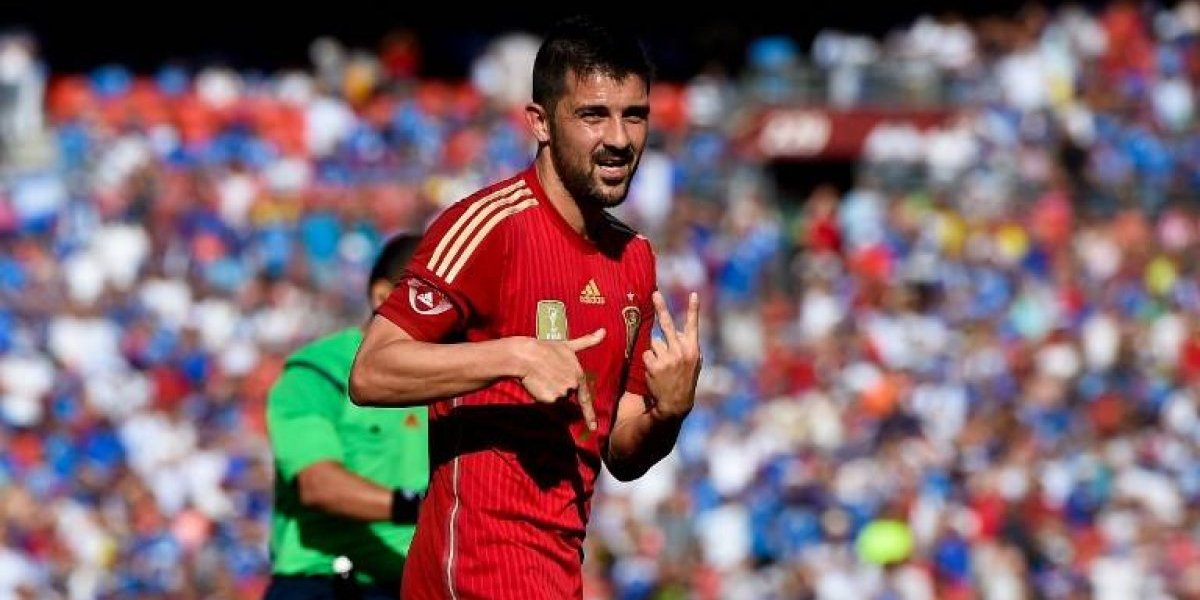 """David Villa """"El Guaje"""" regresa a la selección española"""