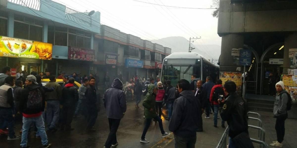 Tres metropolitanos heridos y 10 detenidos durante paralización de transportistas