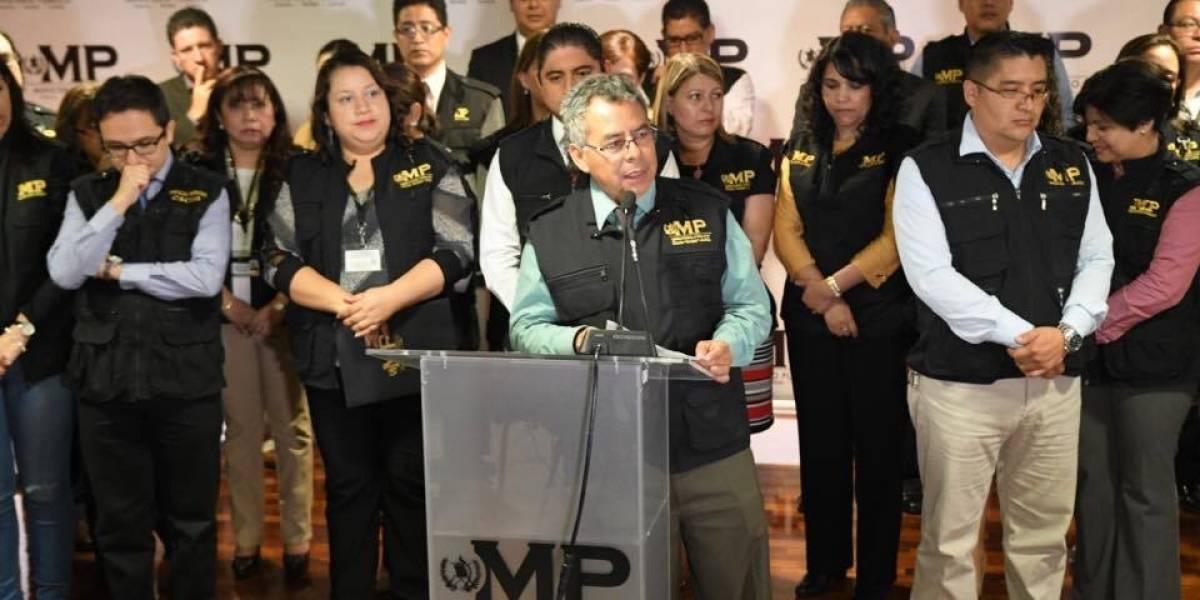 Fiscales y personal administrativo del MP apoyan a Thelma Aldana e Iván Velásquez