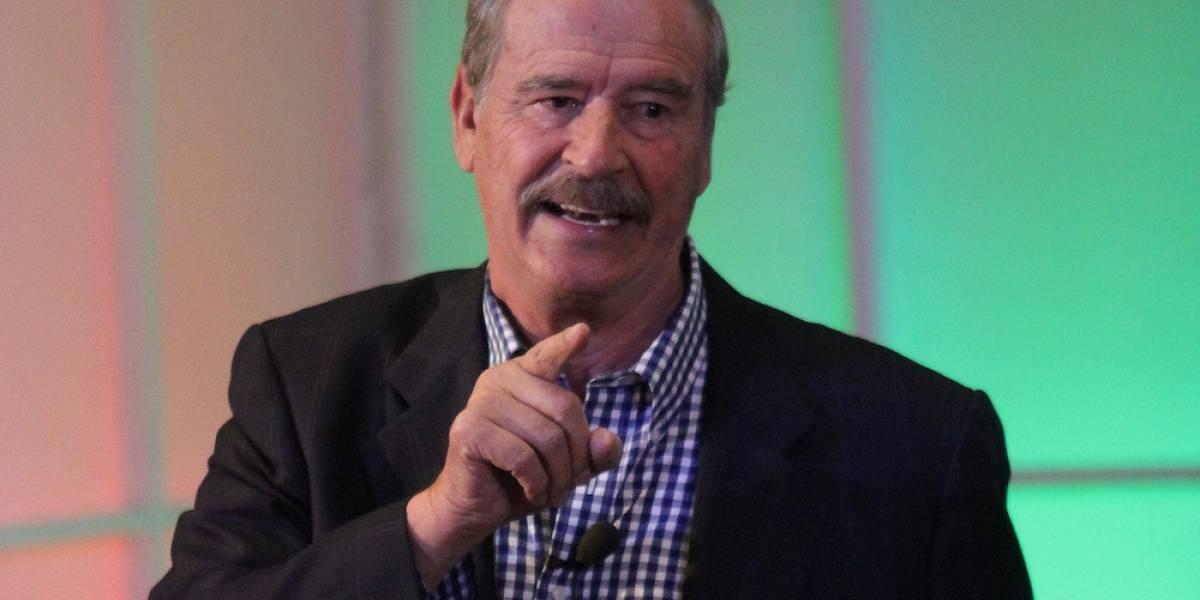 Vicente Fox califica de 'incesto' las coaliciones formadas, va con Meade
