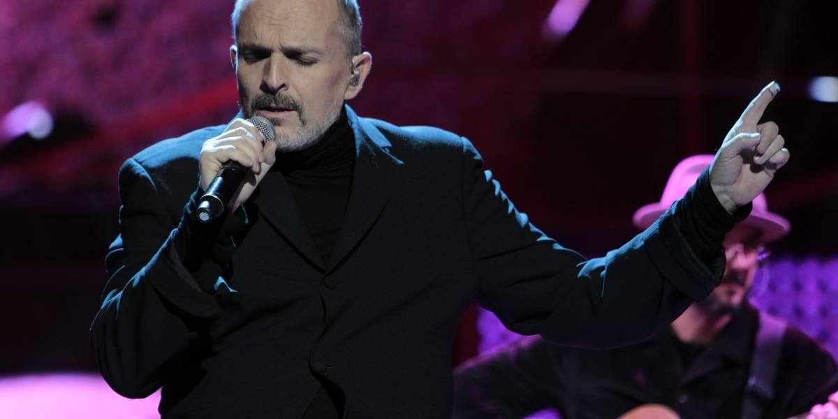 Reconocen labores altruistas de Miguel Bosé en Premios Tu Mundo