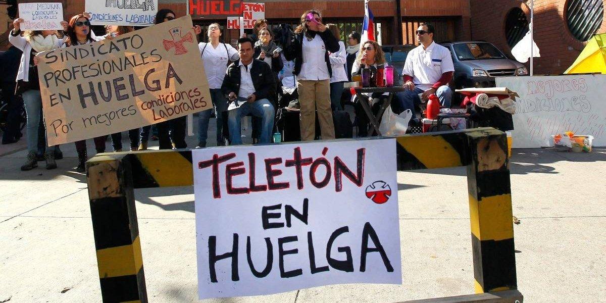 Luego de 8 días Sindicato de Profesionales de Teletón llega a acuerdo y depone huelga legal
