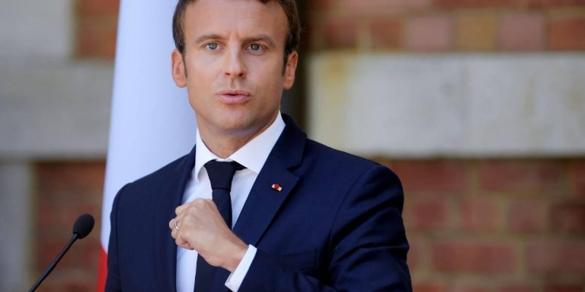 El millonario gasto de Emmanuel Macron que cuestionan los franceses: $20 millones en maquillaje para embellecerse