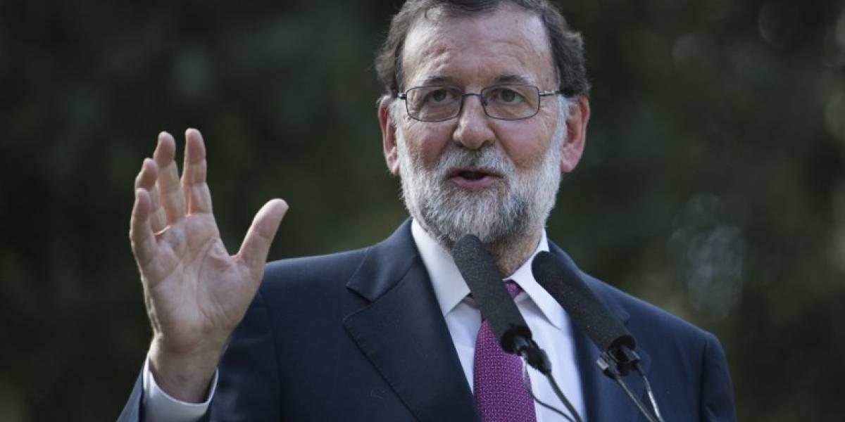 """Rajoy pide participación masiva en manifestación para expresar el """"amor"""" a Barcelona"""