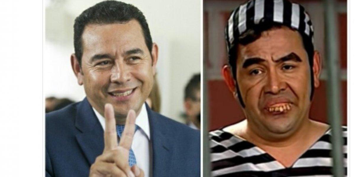 Con #AntejuicioJimmy se burlan del presidente Jimmy Morales tras señalamientos de corrupción
