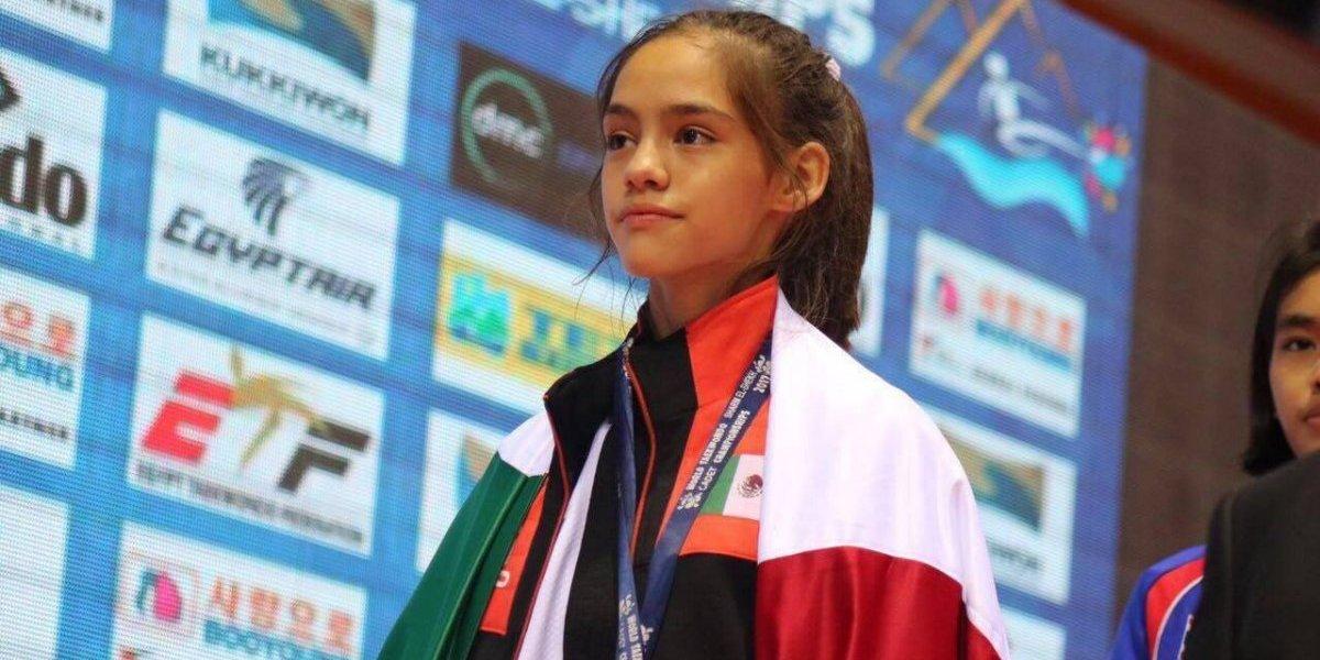 Mexicana Eyleen Góngora gana plata en Mundial Cadetes