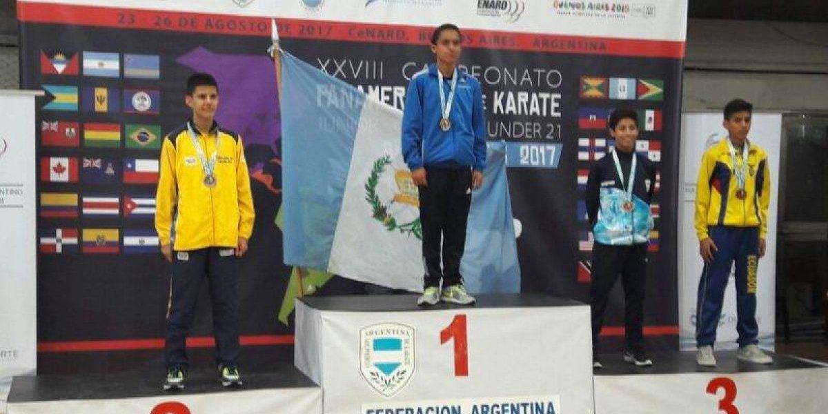 Pedropablo De La Roca gana dos medallas en Panamericano de Argentina