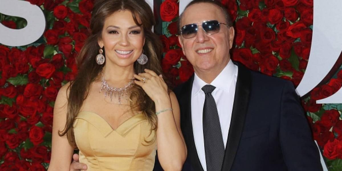 Tommy Mottola vuelve a sorprender a Thalía con un gran regalo