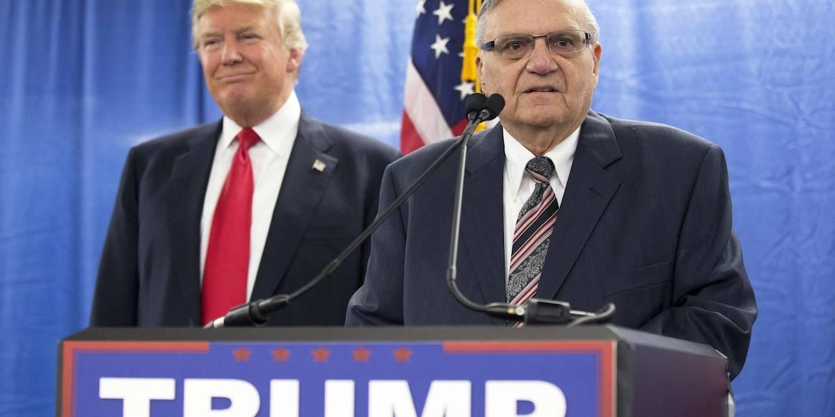 Trump da el perdón presidencial al ex alguacil Joe Arpaio