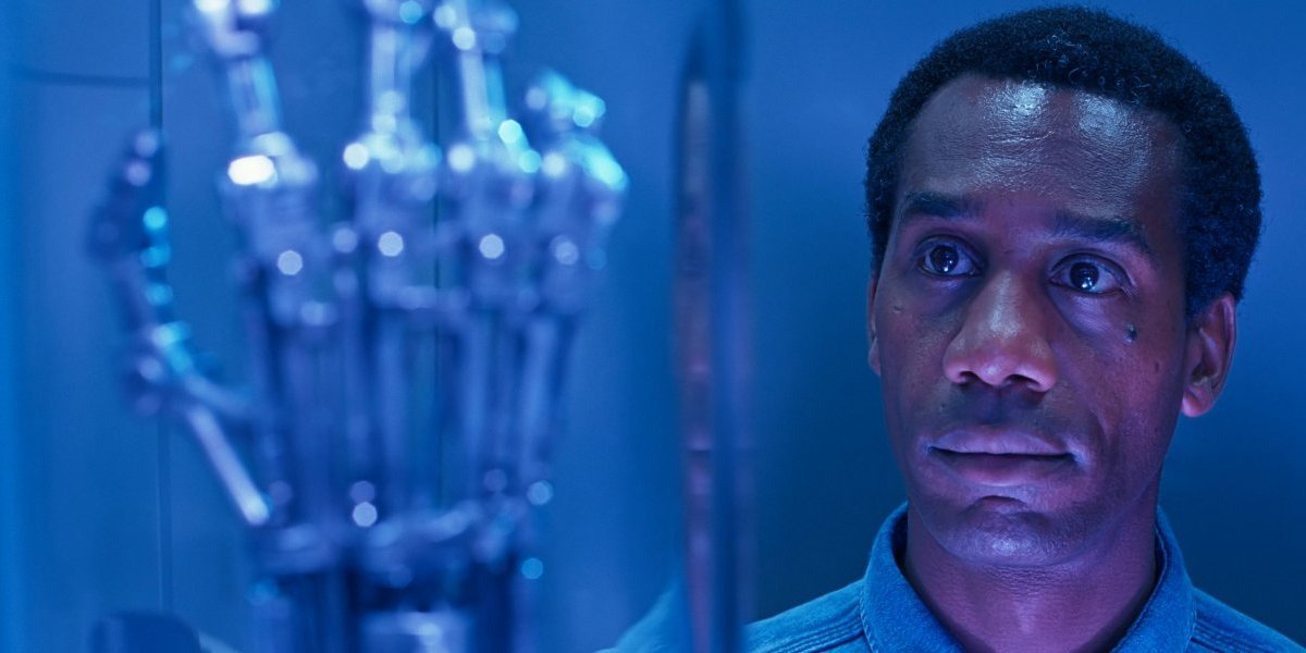Joe Morton obtuvo su papel Terminator 2 gracias a una broma sobre su color