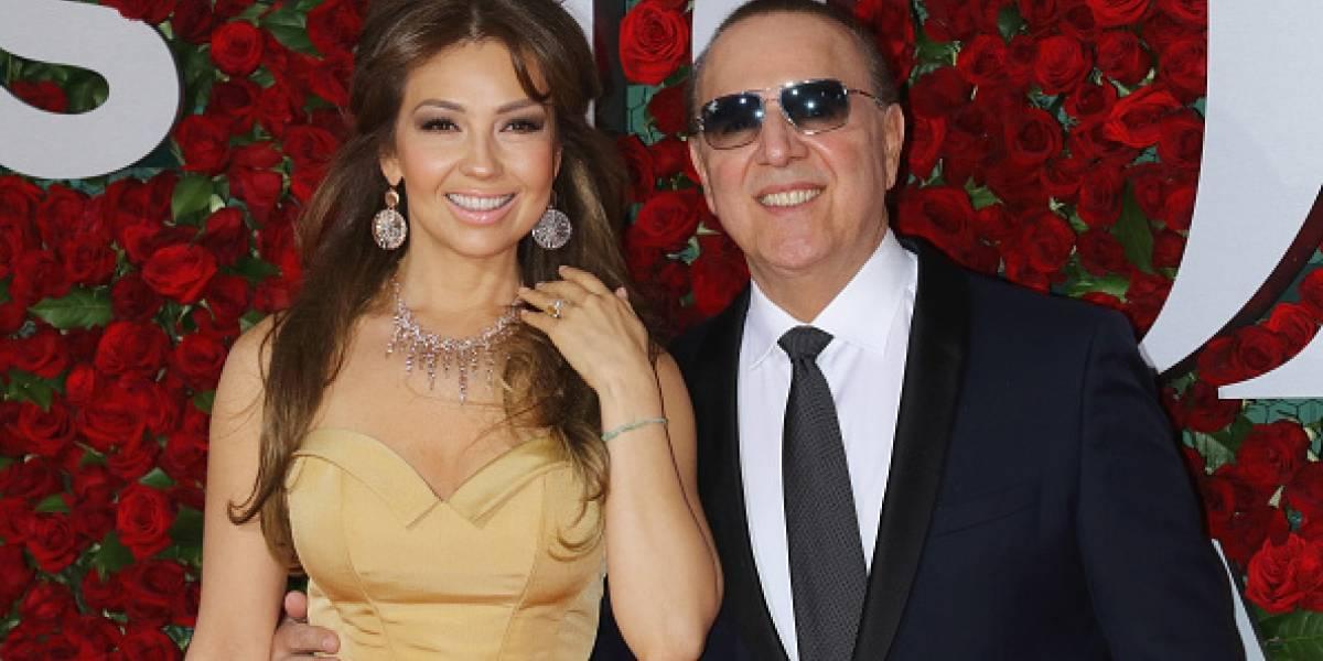 Tommy Mottola sigue sorprendiendo a Thalía con detalles y regalos por su cumpleaños