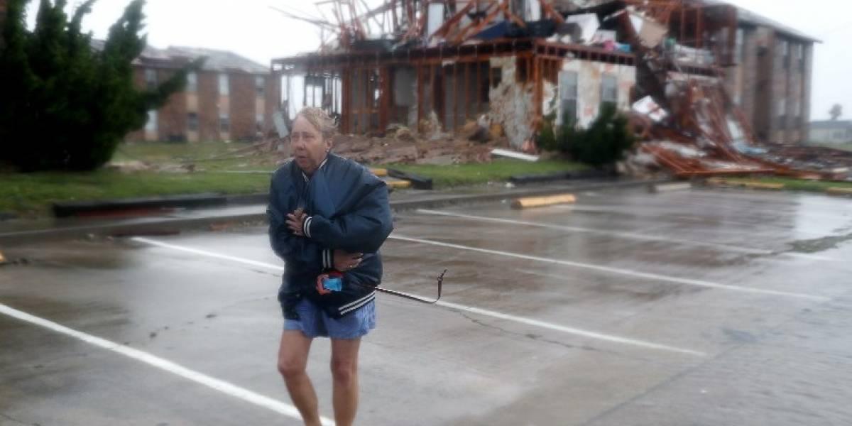 Una catástrofe: las potentes imágenes de la devastación causada por el huracán Harvey en Texas