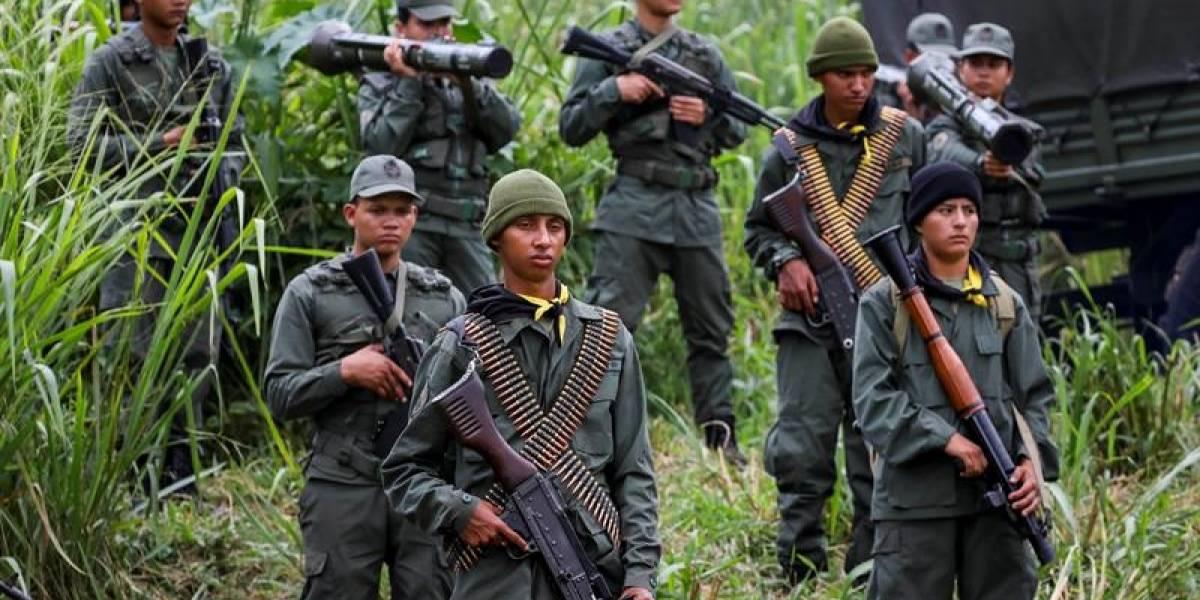 Inician en medio de la tensión ejercicios militares en Venezuela