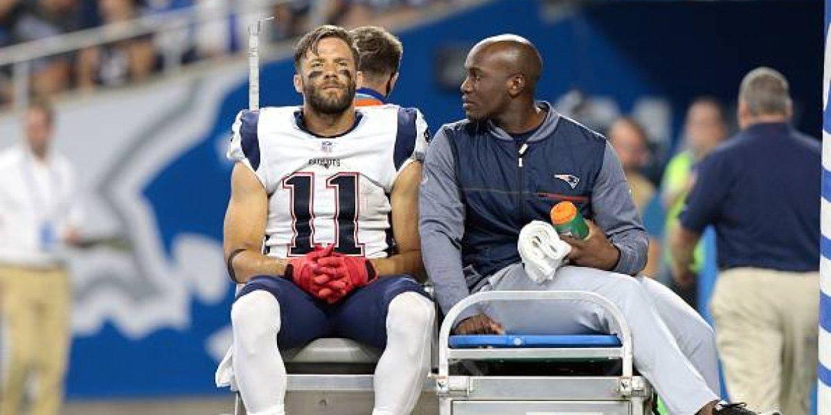 Los Patriots pierden a Edelman para toda la temporada
