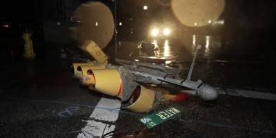 El paso del Huracán Harvey